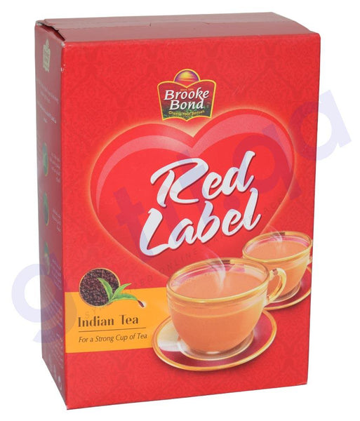 TEA POWDER - BROOKE BOND RED LABEL TEA 450gm