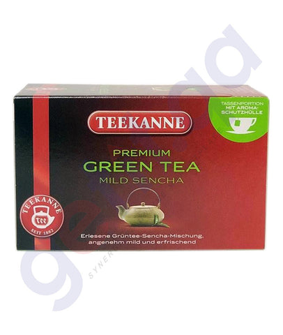 Buy Teekanne Premium Green Tea Mild Sencha Online in Qatar