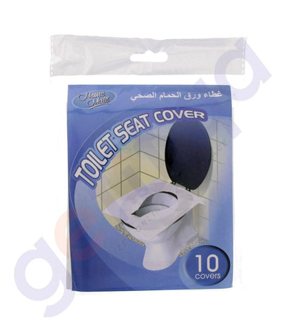 TISSUES - HOME MATE TOILET SEAT COVER 10PCS