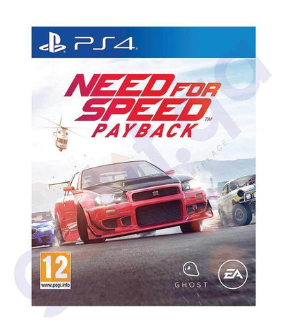 TITLES - NEED FOR SPEED -  PAYBACK-  PS4