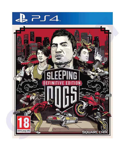 TITLES - SLEEPING DOG  -DEFINITIVE EDITION - PS4