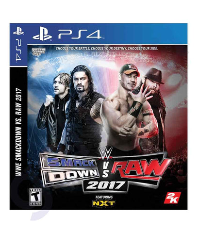 TITLES - SMACKDOWN Vs RAW-2017 - ARABIC - PS4