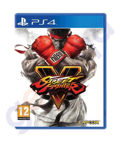 TITLES - STREET FIGHTER V -  PS4