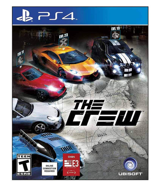 TITLES - THE CREW - PS4