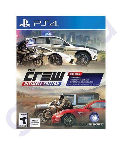 TITLES - THE CREW - ULTIMATE EDITION-  PS4