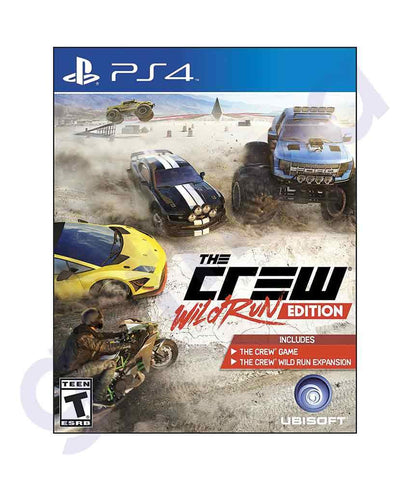 TITLES - THE CREW - WILD CREW EDITION - PS4