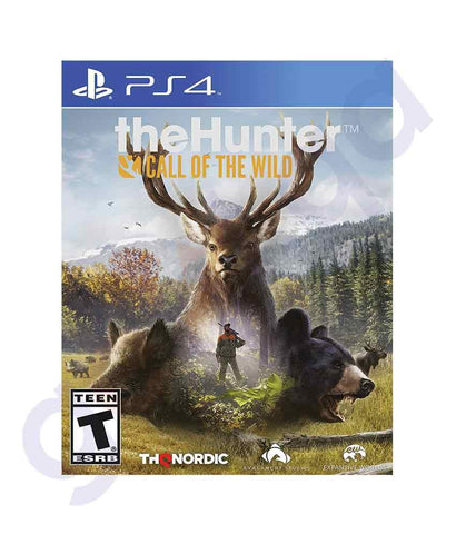TITLES - THE HUNTER- CALL OF THE WILD-  PS4