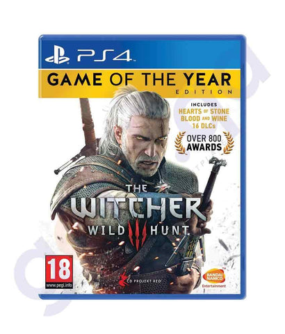 TITLES - THE WITCHER - WILD HUNT-  PS4