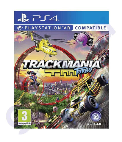 TITLES - TRACK MANIA- TURBO -  PS4