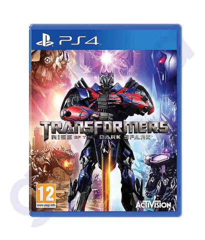 TITLES - TRANSFORMERS-RISE OF THE DARK SPARK- PS4