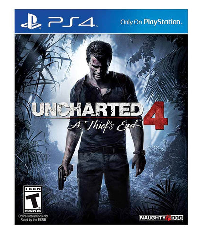 TITLES - UNCHARTERED 4 - PS4