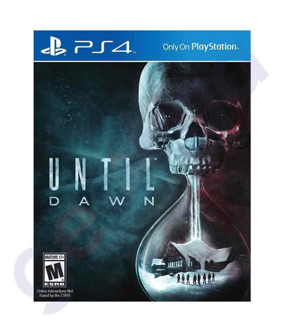 TITLES - UNTIL DAWN  - PS4