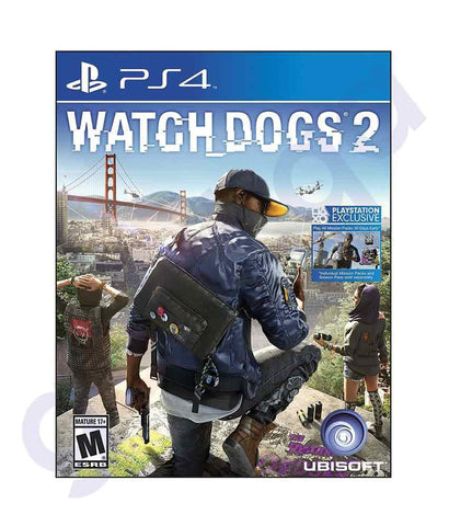 TITLES - WATCH DOGS 2 -  PS4