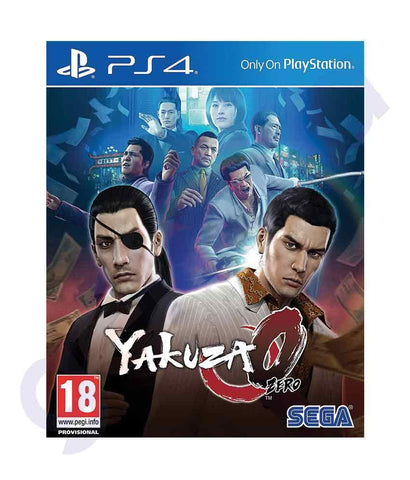 TITLES - YAKUZA ZERO -  PS4