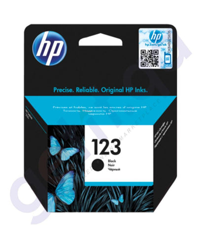 TONERS & CARTRIDGES - HP 123 BLACK CARTRIDGE
