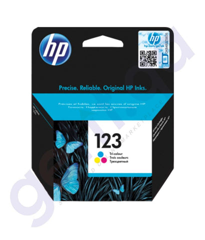 TONERS & CARTRIDGES - HP 123 COLOR CARTRIDGE