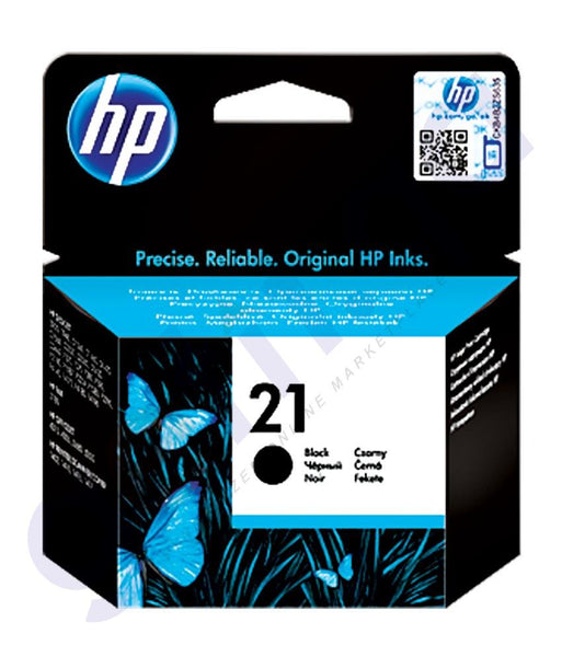 TONERS & CARTRIDGES - HP 21 BLACK CARTRIDGE