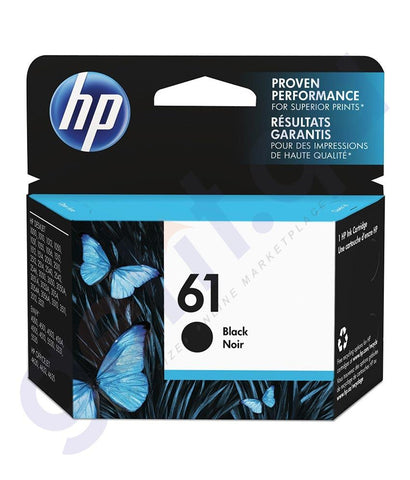 TONERS & CARTRIDGES - HP 61 BLACK CARTRIDGE