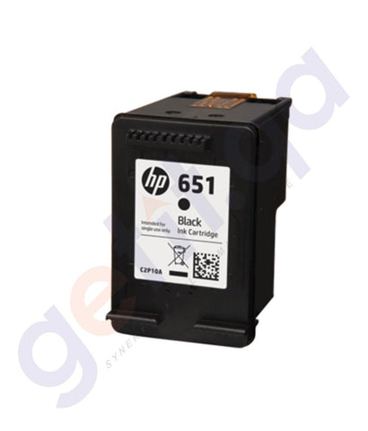 TONERS & CARTRIDGES - HP 651 BLACK CARTRIDGE