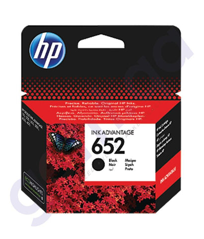 TONERS & CARTRIDGES - HP 652 BLACK CARTRIDGE