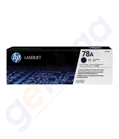 TONERS & CARTRIDGES - HP 78A ( CE278A ) BLACK TONER CARTRIDGE