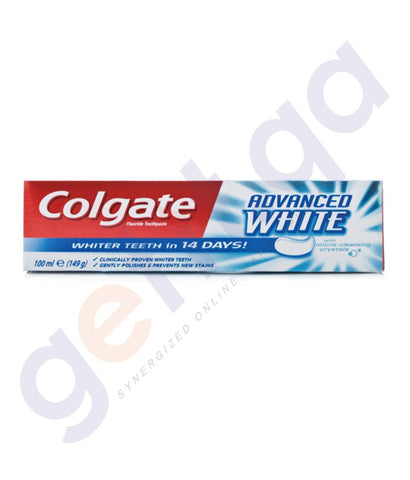 TOOTH PASTE - COLGATE FLUORIDE ADVANCED WHITENING - 100ML