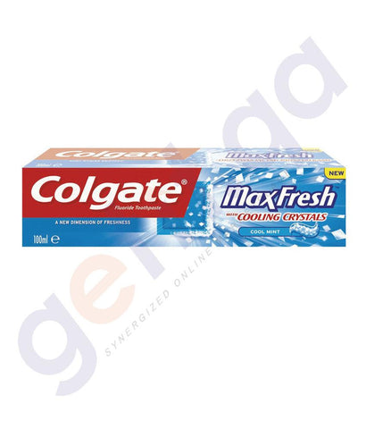 TOOTH PASTE - COLGATE FLUORIDE MAX FRESH COOL MINT - 100ML