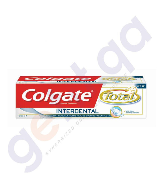 TOOTH PASTE - COLGATE FLUORIDE PRO-INTERDENTAL - 75ML