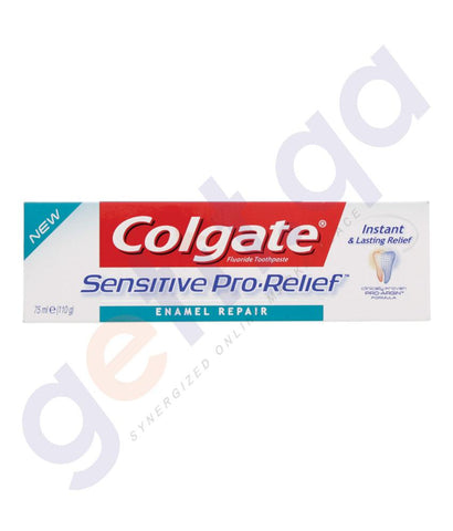 TOOTH PASTE - COLGATE FLUORIDE SENSITIVE PRO-RELIEF ENAMEL REPAIR - 75ML