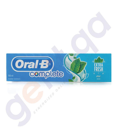 TOOTH PASTE - ORAL-B COMPLETE EXTRA FRESH - 100ML