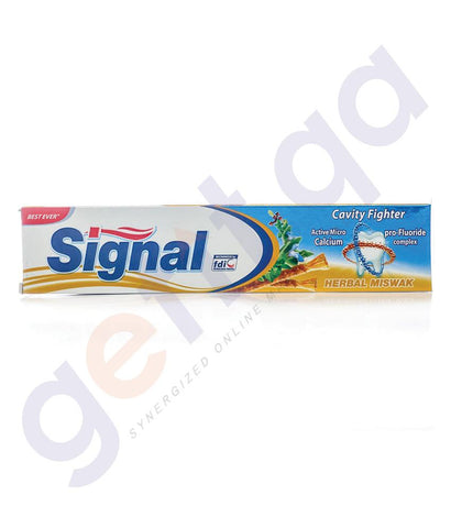 TOOTH PASTE - SIGNAL 120ML TOOTHPASTE HERBAL MISWAK