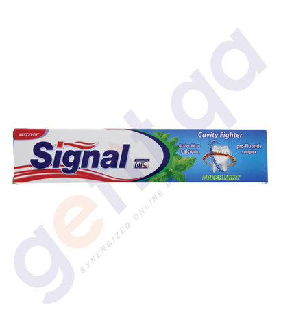 TOOTH PASTE - SIGNAL CAVITY FIGHTER FRESH MINT - 120ML