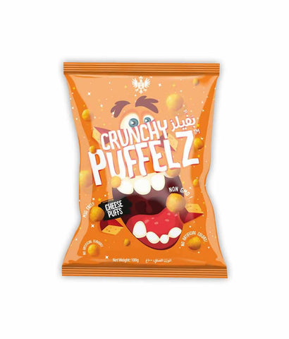 Request Quote Crunchy Puffelz Cheese Puffs 100gm Doha Qatar