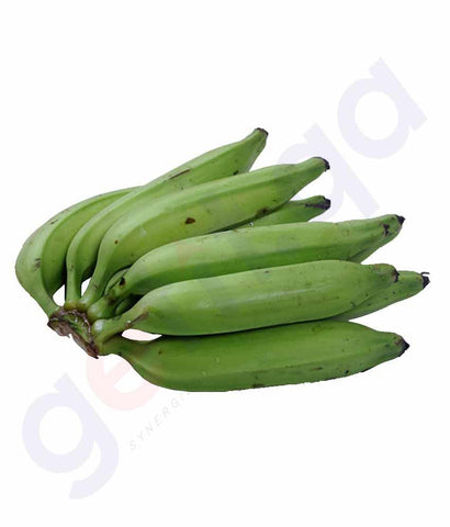 Vegetables - Banana - Raw Green (Ethakka) 250gm