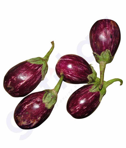 Vegetables - Brinjal, Eggplant, Aubergine  250gm