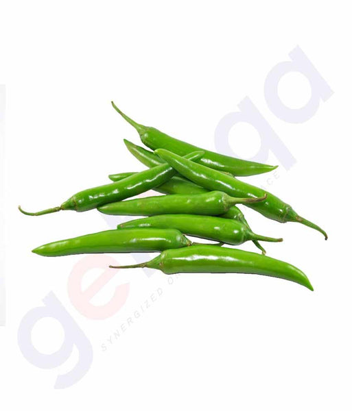 Vegetables - Chilly Green (India)  100gm