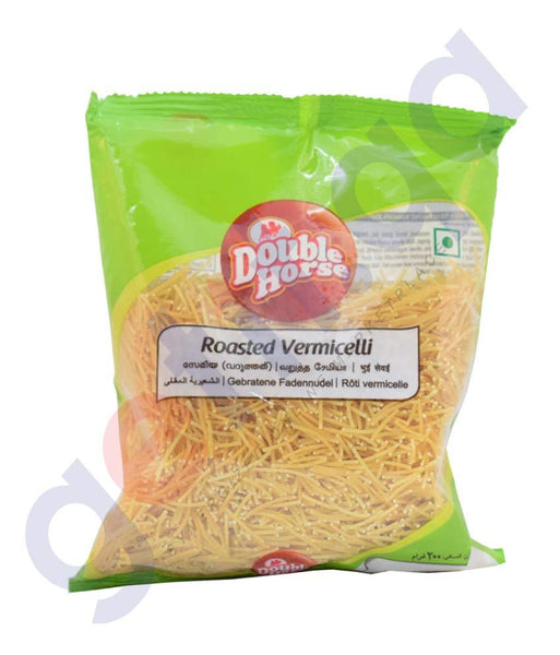VERMICELLI - DOUBLE HORSE ROASTED VERMICELLI - 200GM