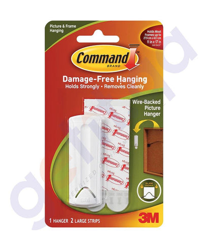 Wall Decals - 3M COMMAND (17040ES)  SAWTOOTH PICTURE HANGER