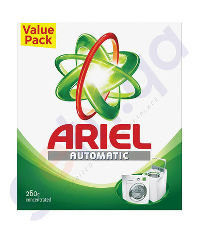 WASHING POWDER - Ariel-GREEN-260gm