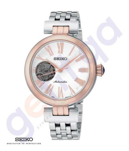 WATCHES - SEIKO AUTOMATIC OPEN HEART WOMEN'S WATCH - SSA862J1