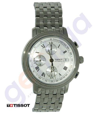 WATCHES - TISSOT BRIDGEPORT STAINLESS STEEL MENS WATCH  - T0454271103300