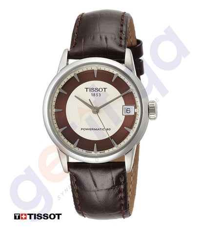 WATCHES - TISSOT CLASSIC LUXURY AUTOMATIC WOMEN'S WATCH - T0862071626100