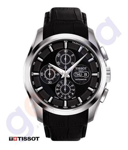 WATCHES - TISSOT COUTURIER CHRONOGRAPH MENS WATCH  - T0356141605100
