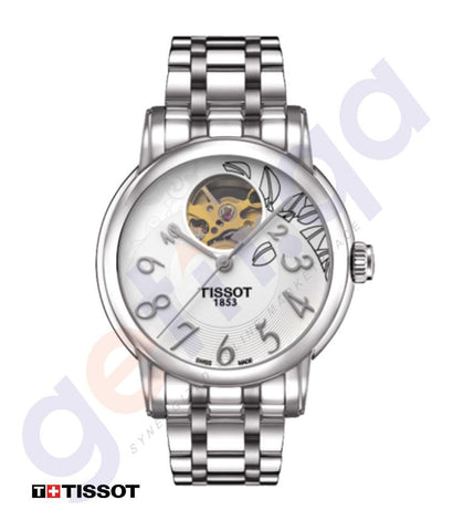 WATCHES - TISSOT LADY HEART AUTOMATIC SILVER WOMEN'S WATCH -T0502071103200