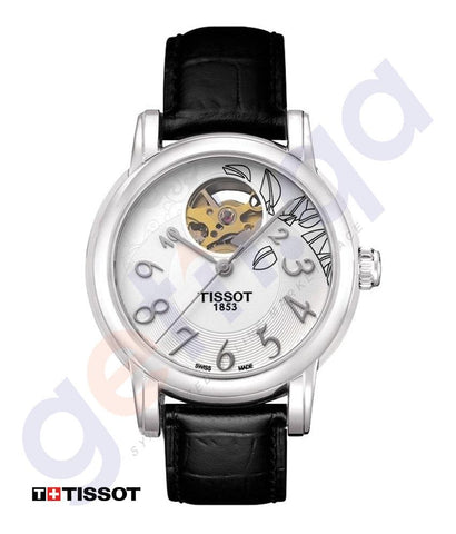 WATCHES - TISSOT LADY HEART AUTOMATIC WOMEN'S WATCH SILVER -T0502071603200