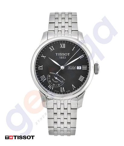 WATCHES - TISSOT LE LOCLE BLACK DIAL MENS WATCH  - T0064241105300