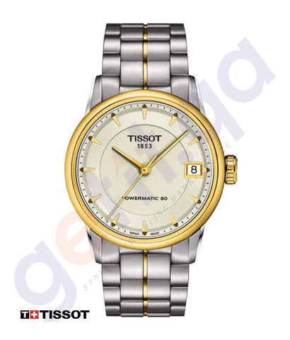WATCHES - TISSOT  LUXURY POWERMATIC 80 WOMEN'S WATCH -T0862072226100