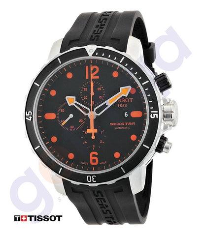 WATCHES - TISSOT SEASTAR 1000 CHRONOGRAPH AUTOMATIC MENS WATCH  - T0664271705701
