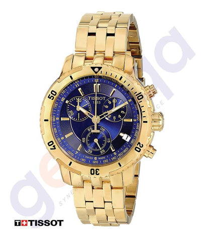 WATHCES - TISSOT AUTOMATIC CHRONOGRAPH MENS WATCH GOLD - T0674173304100