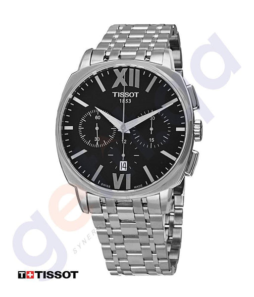 WATHCES - TISSOT VELOCI-T  SWISS AUTOMATIC SILVER MENS WATCH  - T0595271105800
